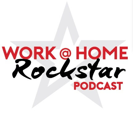 work at home rockstar podcast logo