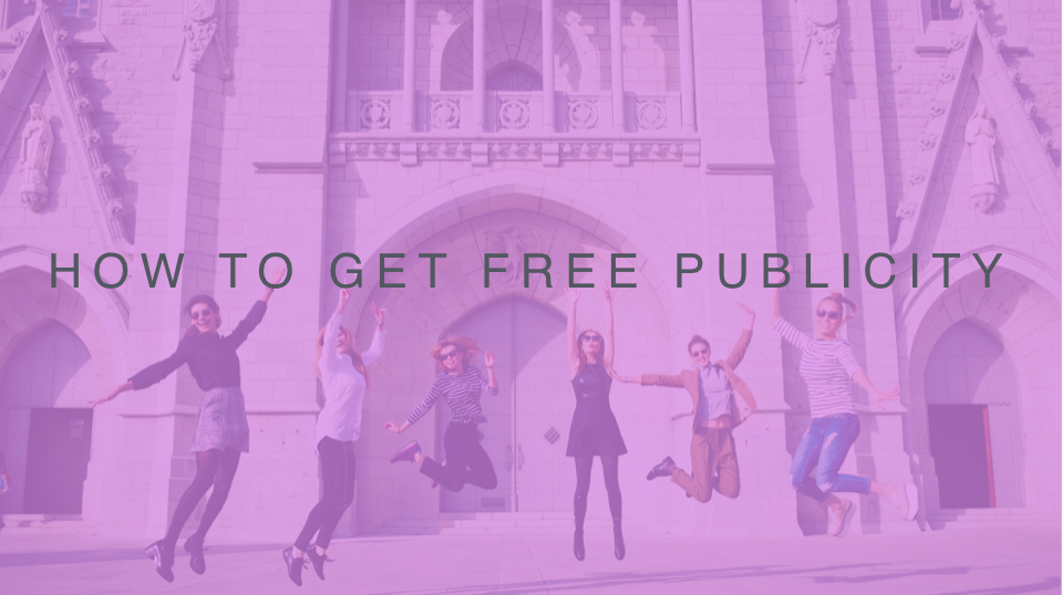 How to Get free Publicity Cover