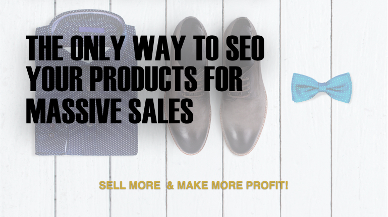 The only way to SEO your products